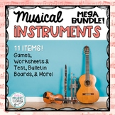 Musical Instruments MEGA BUNDLE - 11 Games/Worksheets/Bull