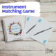 Musical Instruments Matching Game