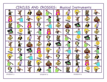 Musical Instruments Mega Connect 4 game