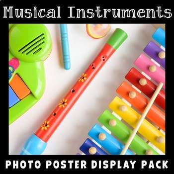 Musical Instruments Photo Poster Display Pack