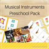 Musical Instruments Preschool Pack