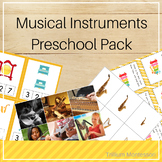 Musical Instruments Preschool Pack