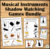 Musical Instruments Shadow Matching Games Bundle
