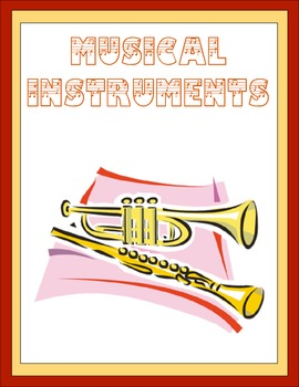 Musical Instruments Thematic Unit
