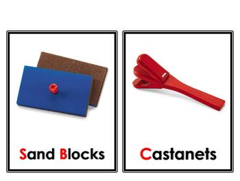 Musical Instruments flashcards (Lakeshore)