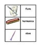 Musical Instruments in English Concentration games
