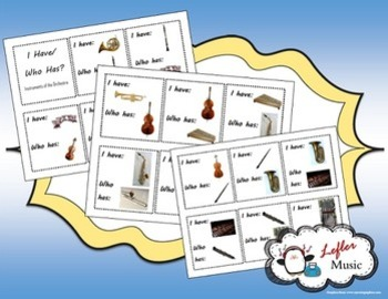 Musical Instruments of the Orchestra Bundle