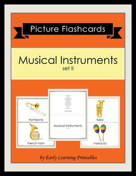 Musical Instruments (set II) Picture Flashcards