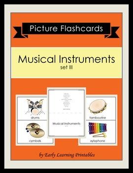 Musical Instruments (set III) Picture Flashcards