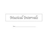 Musical Intervals Unit