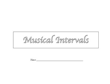 Musical Intervals Unit
