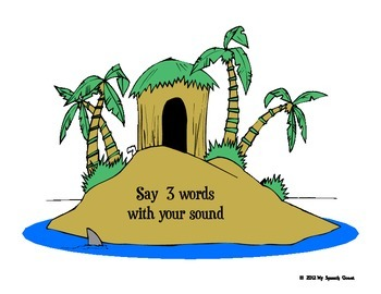 Musical Islands Speech Therapy Game