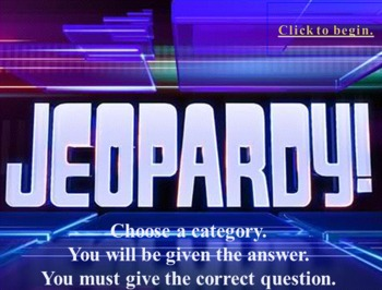Musical Jeopardy