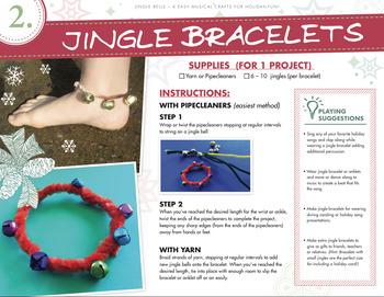 Musical Jingle Bell Bracelets/Anklets