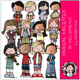 Musical Kidlettes clip art - by Melonheadz