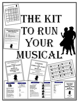 Theater, Musical, Play The Kit to Run Your Event!