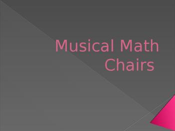 Musical Linear Math Chairs