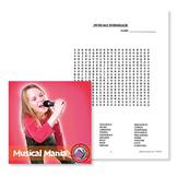 Musical Mania: Musicals Wordsearch - BONUS WORKSHEETS