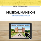 Musical Mansion: an interactive activity for distance learning