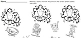Musical Matching Snowflakes - Dynamic Symbols Worksheet