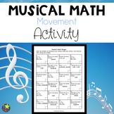Musical Math Activity