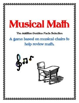 Musical Math Addition Doubles Facts