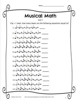 Musical Math Level 1