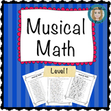 Musical Math Level 1