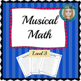 Musical Math Level 3