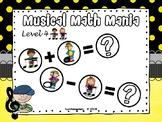 Musical Math Mania Equations: Level 4 - PPT Edition