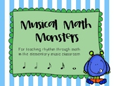 Musical Math Monsters