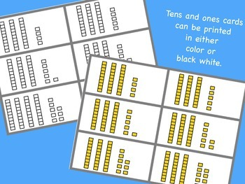Tens and Ones Musical Chairs Math - A math movement game for the whole class!