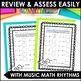 Musical Math is a Hoot! {10 Cross-Curricular Music Math Worksheets}