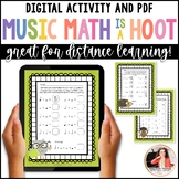 Musical Math is a Hoot! {10 Cross-Curricular Music Math Worksheets}