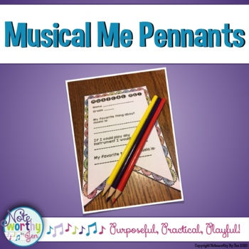 Musical Me Decor Pennants