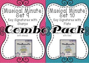 Musical Minute Combo Pack: Sharps and Flats