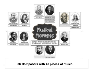 Musical Moments Music Listening Pack