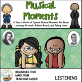 Musical Moments Music Listening Pack For in Class or Distance Learning