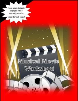 Musical Movie Worksheet
