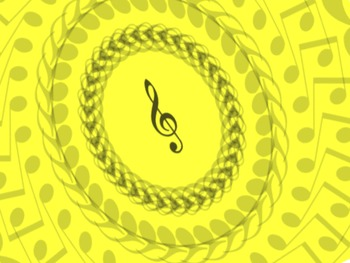 Musical Note Digital Paper