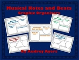 Musical Note Graphic Organizers - Smart Board Interactive and Printable