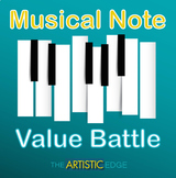 Musical Note Value Battle (Music Game)