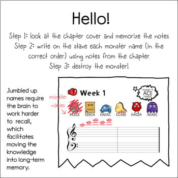 Musical Notes & Monsters ONE (Bundle of 7 volumes!)