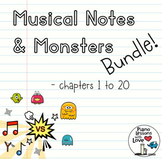Musical Notes & Monsters Bundle (Volumes 1 to 7)