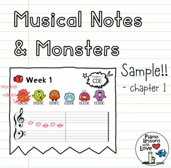 Musical Notes & Monsters Chapter 1