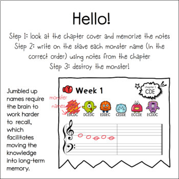 Musical Notes & Monsters ONE (Sample)