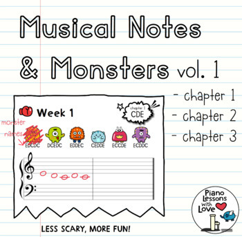 Musical Notes & Monsters Volume 1