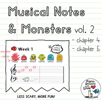 Musical Notes & Monsters Volume 2