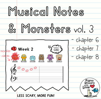 Musical Notes & Monsters Volume 3
