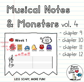 Musical Notes & Monsters Volume 4
